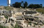 Античный город калос лимен в п. черноморское (крым): фото, как добраться, описание
