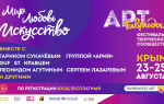 Фестиваль таврида-арт 2020 в судаке, крым. где проходит. когда