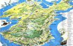 Подробные карты крыма с курортами, городами, поселками, селами