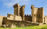 Генуэзская крепость в судаке (крым): как добраться, цены, фото, описание