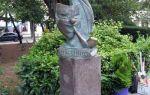 Памятник портфелю жванецкого в ялте: фото, где находится, описание
