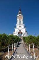 Храм-маяк Святителя Николая Чудотворца в Малореченском (Крым): фото, как добраться, описание