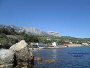 Нудистский пляж Голубые камни в Симеизе, Крым: на карте, фото, описание