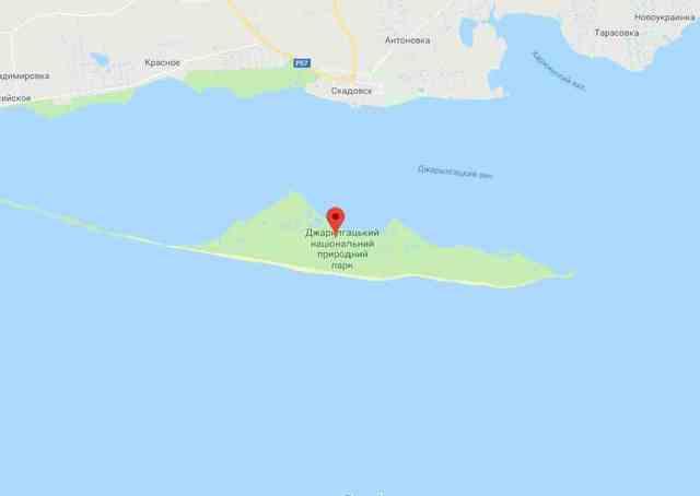 Озеро Джарылгач в Крыму: фото, где находится, как добраться